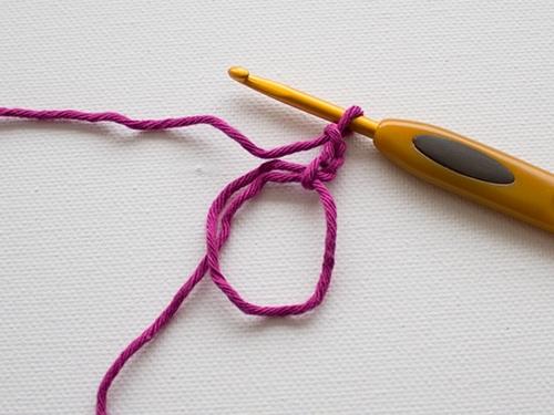 Как связать пуговицу крючком
