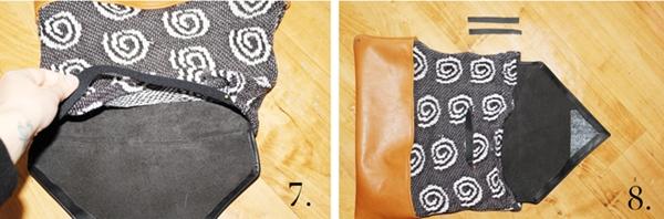 Как сшить сумку из старого свитера