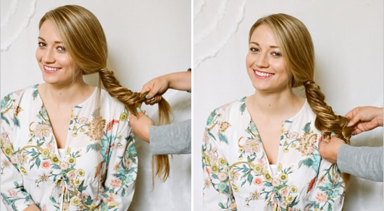 Эта не одна из вариаций плетения косы.  Если у вас есть время, а самое главное желание создавать разнообразные образы...