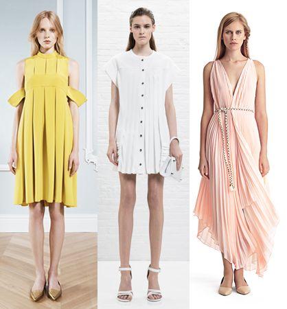 Модные платья весна 2014