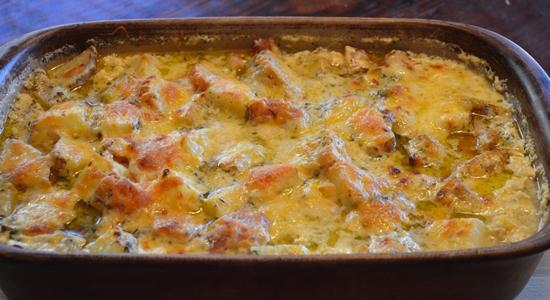 Картофельная запеканка по-румынски