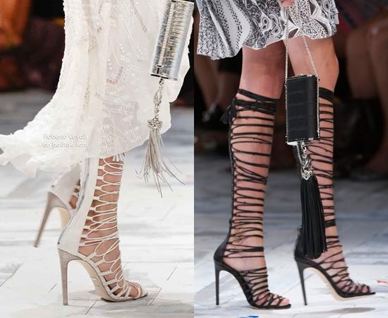 Модные сапоги весна 2014