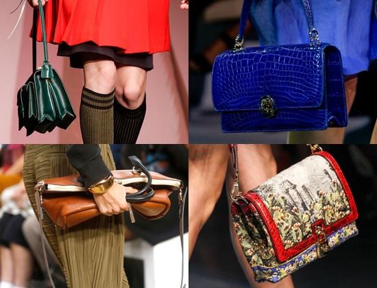 Модные сумки весна 2014
