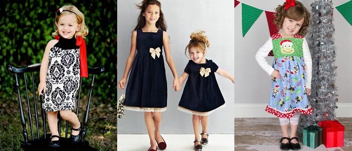 Платье для девочки на Новый год 2014
