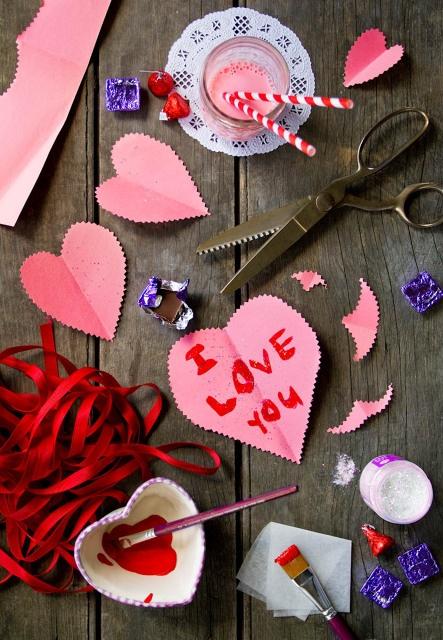 День всех влюбленных в школе