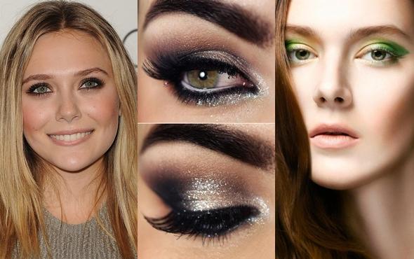 Как сделать макияж для зеленых глаз, поэтапное руководство