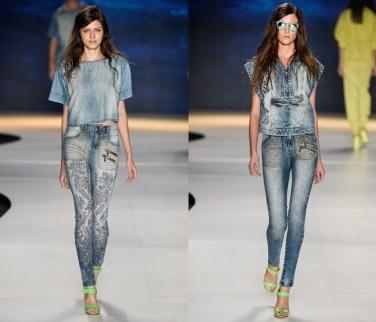 Модные джинсы 2014