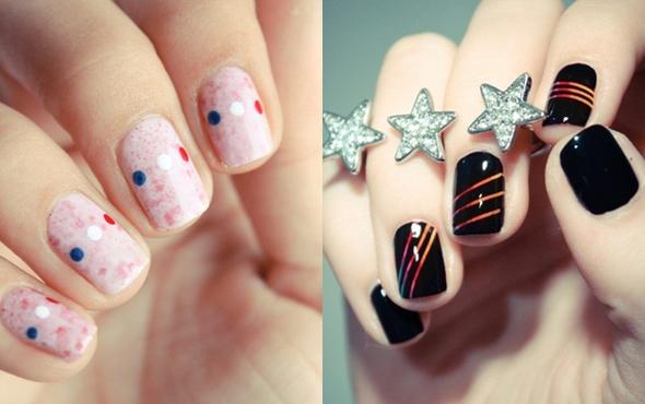 Эффектно, практично, актуально: маникюр на коротких ногтях 2014