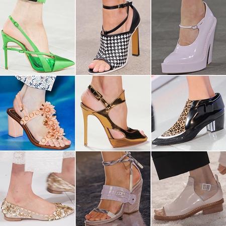 Стук каблучков: модные тенденции в обуви 2014