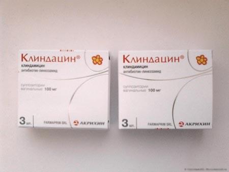 Клиндацин свечи: показания к использованию