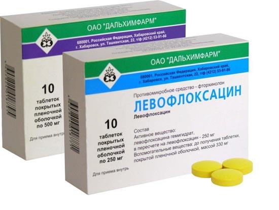 Левофлоксацин: побочные эффекты