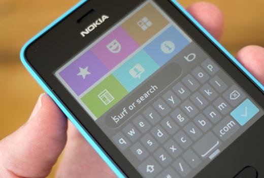 Nokia 501 Asha: дизайн