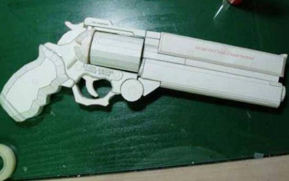 Револьвер своими руками видео