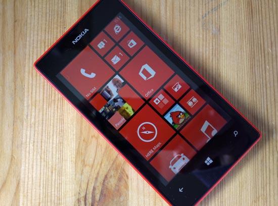 Nokia Lumia 520 - быстродействие и память
