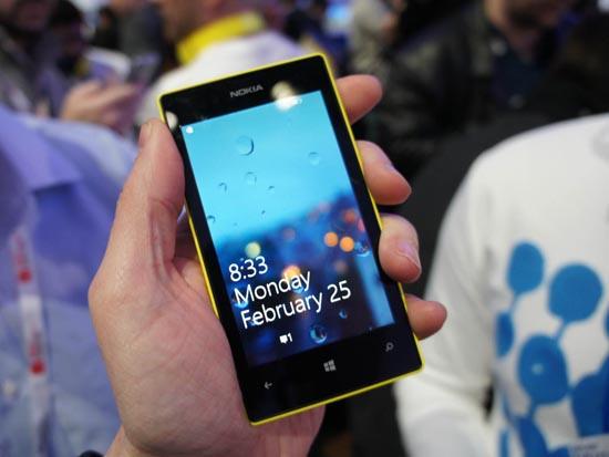 Nokia Lumia 520 — дизайн