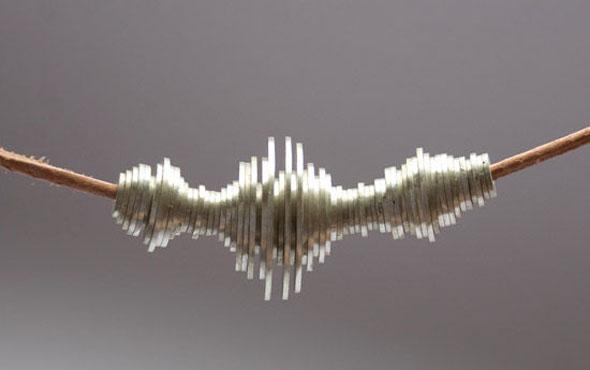 Как сделать ультрамодный «звуковой» браслет и ожерелье