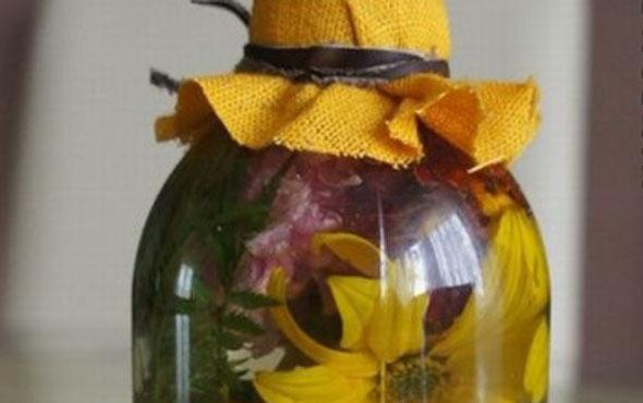 Как законсервировать живые цветы в глицерине
