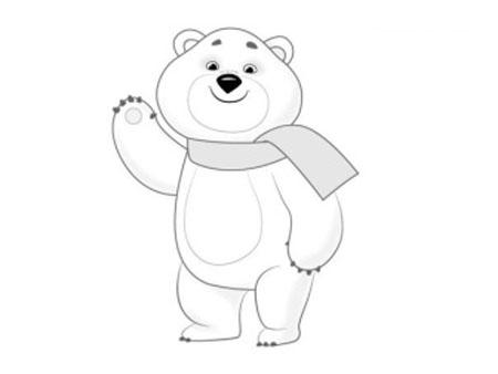 Мастер-класс: как нарисовать олимпийского мишку