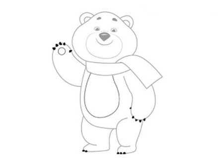 Мастер-класс: как нарисовать олимпийского мишку. Пошаговая инструкция