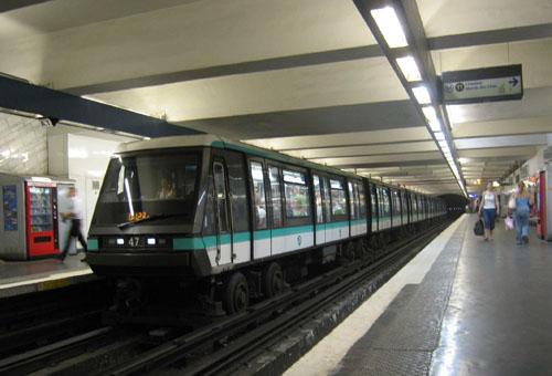 Метрополитен Парижа