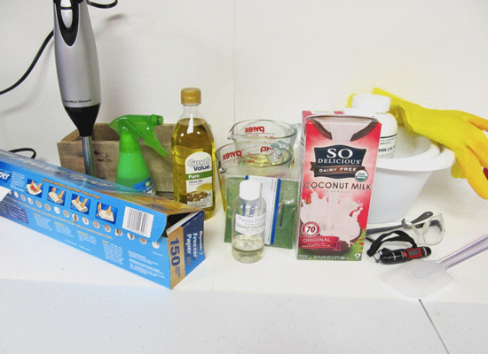 Полезное мыло с кокосовым молоком в домашних условиях