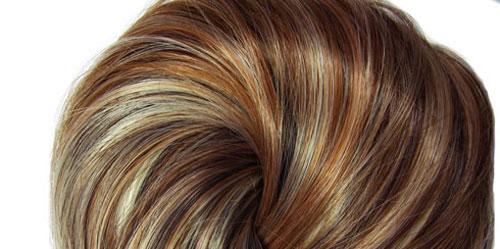 эффекта 3D окрашивания волос