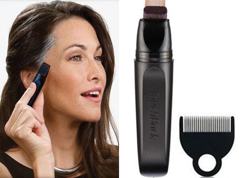 воспользуйтесь специальным цветным маркером для волос.