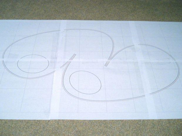 Нарисуйте любую длинную изогнутую линию