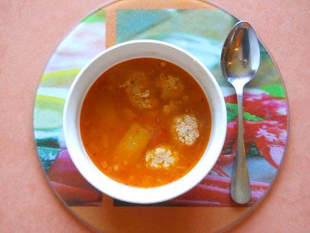 Мексиканский чили-суп в мультиварке