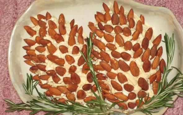 Оригинальные салаты «Шишка»