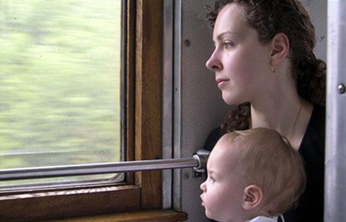 Путешествуем с ребенком  в поезде