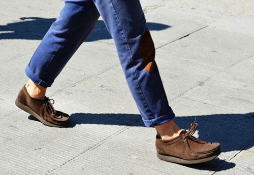 мокасины - джинсы