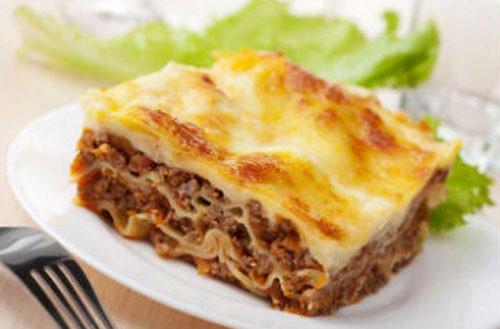 Блюдо «Лазанья»