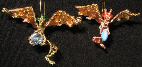 """Подвеска """"дракон"""" с крыльями"""