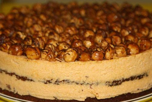Торт на Новый 2016 год «Фундук»