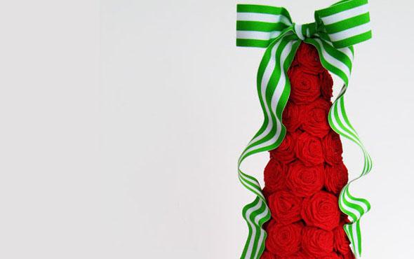 Как сделать ёлку из гофрированной бумаги своими руками на Новый год, фото