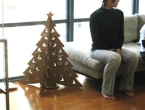 Как сделать ёлку из картона: новогодний мастер-класс своими руками