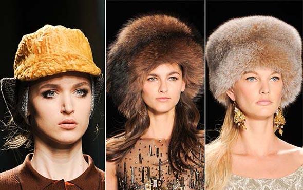 Модные головные уборы, Зима 2015–2016 года: фото новых дизайнерских решений