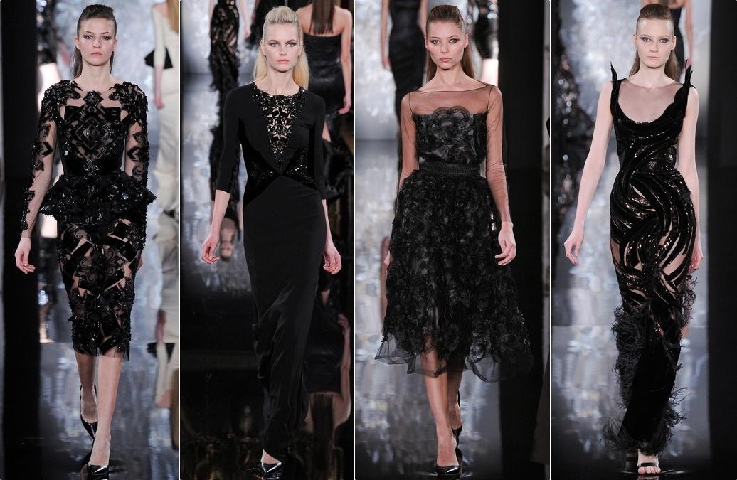 Особенно удачные модели вечерних платьев представляют в своих коллекциях Lela Rose, Monique Lhuillier, Pamella Roland, Valentin Yudashkin и Oscar de la