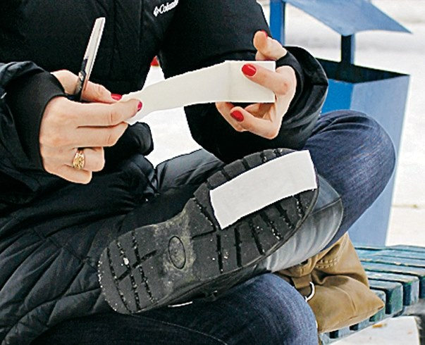 Что делать если скользят ботинки зимой