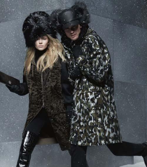 Модная верхняя зимняя одежда 2015, фото