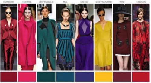 Модные цвета одежды сезона Осень-Зима 2015-2016