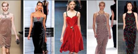 Бархатные платья всегда ценились высоко и подчеркивали статус