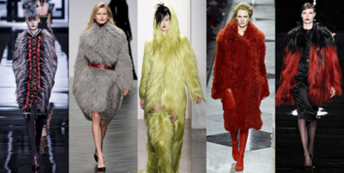 Модные шубы, Зима 2014-2015: фото модных