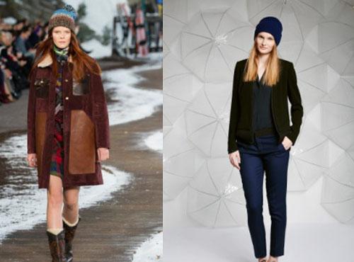 Модные вязаные шапки, Осень-Зима 2015-2016: фото самых модных женских головных уборов