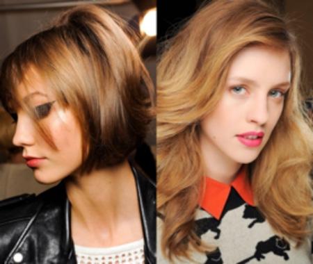 Модное калифорнийское мелирование волос (50 фото)