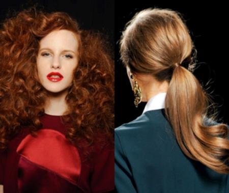В новом сезоне дизайнеры делают акцент на естественность образа, поэтому рыжие волосы лучше только слегка подкрасить, а не окрашивать полностью.