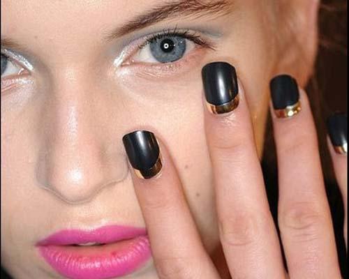 Модный французский маникюр 2015: фото самого модного френч-маникюр