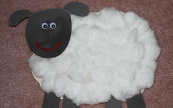 Поделки к новому году овцы