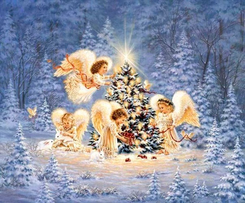 Рождество - прекрасный семейный праздник, замечательная традиция собраться семьей